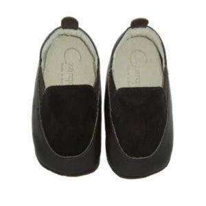 Czarque Baby Shoes- Baby Boy Chocolate Suede Urbane Loafers | Moccasins & Loafers | Bon Bon Tresor