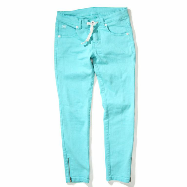 Missie Munster - Girls Blue Tealem Jeans | Pants & Shorts | Bon Bon Tresor
