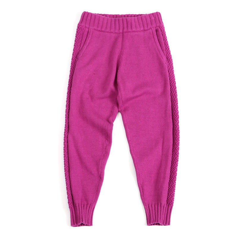 Sudo Kids - Girls Knit Cotton Authentic Moments Pants | Pants & Shorts | Bon Bon Tresor