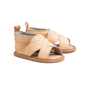 Pretty Brave - Cross-Over Sandal Desert | Sandals | Bon Bon Tresor