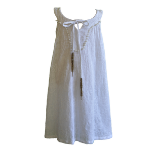 Willow and Finn - Girls White Embroidery Dress | Dresses & Skirts | Bon Bon Tresor