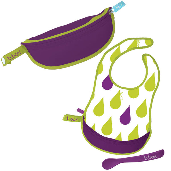 b.box - Travel Bib Splish Splash - Bon Bon Tresor