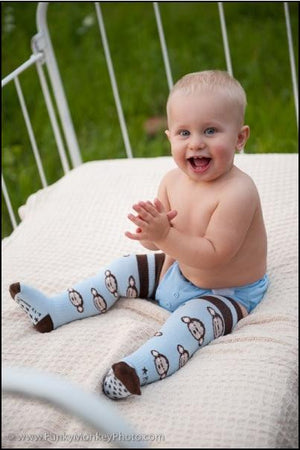 Rock a Thigh Baby - Chunky Monkey Thigh High Socks | Socks | Bon Bon Tresor