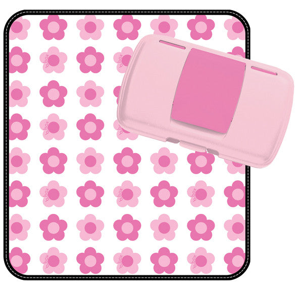 b.box - Nappy Wallet Flower Power - Bon Bon Tresor