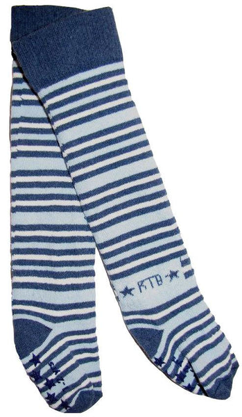 Rock a Thigh Baby - Little Boy Blue Socks - Bon Bon Tresor - 1