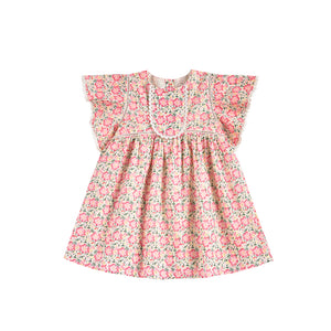 Louise Misha - Christina Pink Meadow Dress | Dresses & Skirts | Bon Bon Tresor