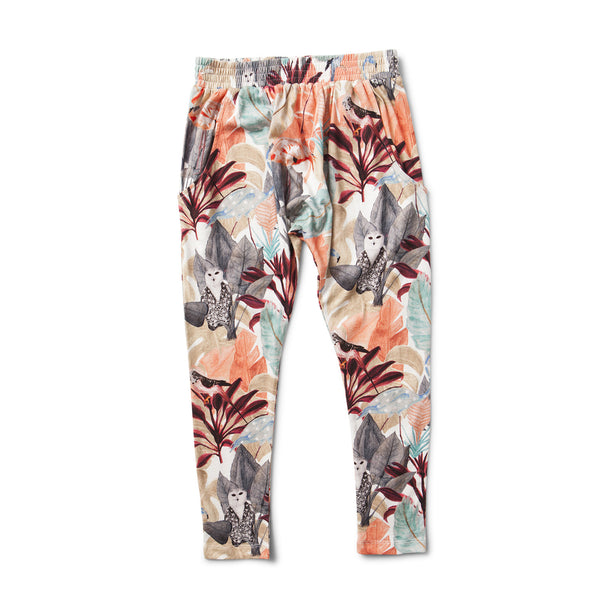 Missie Munster - Girls Relaxed Jungle Pants - Bon Bon Tresor - 1