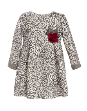 Balloon Chic - Leopard Print Party Dress | Dresses & Skirts | Bon Bon Tresor
