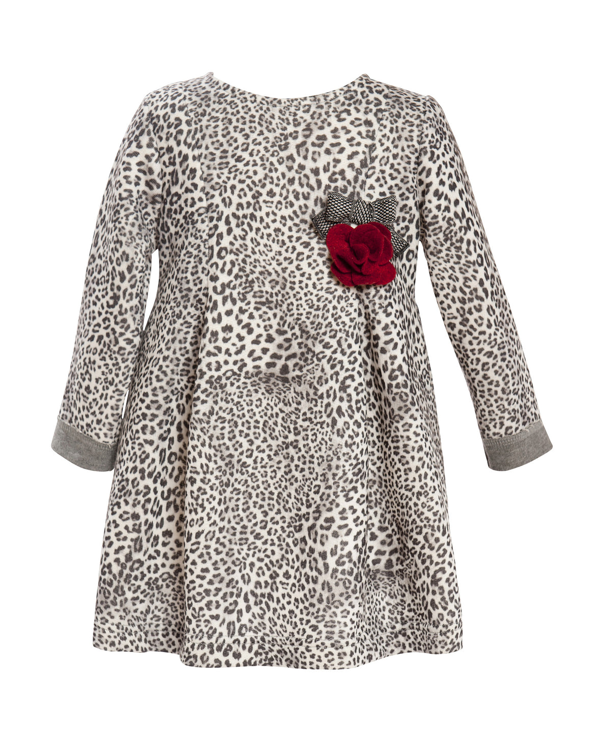 Balloon Chic - Girls Leopard Print Dress | Dresses & Skirts | Bon Bon Tresor