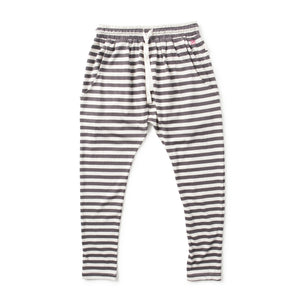 Missie Munster - Girls Stripey Vintage Black Pants | Pants & Shorts | Bon Bon Tresor