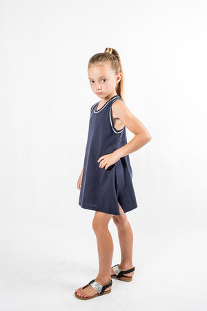 Sudo Kids - Maya Cotton Knit Dress | Dresses & Skirts | Bon Bon Tresor