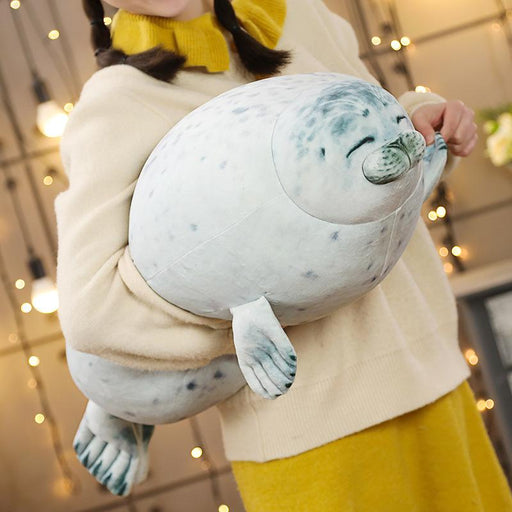 1pc 60CM 3D Lovely Seal Plush Pillow Dolls Stuffed Soft Animal Sea Lion Dolls for Children Kids Birthday Valentine's Gifts