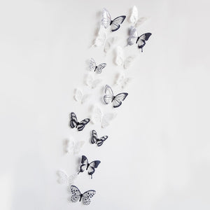 Open image in slideshow, 3D Effect Crystal Butterflies Wall Sticker
