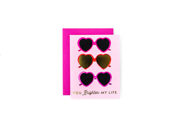 You Brighten My Life Greeting Card
