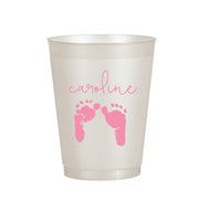 Girl Footprint Cup