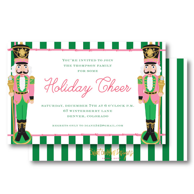 Beverly Hills Nutcracker Invitation