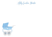 Blue Pram Stationery