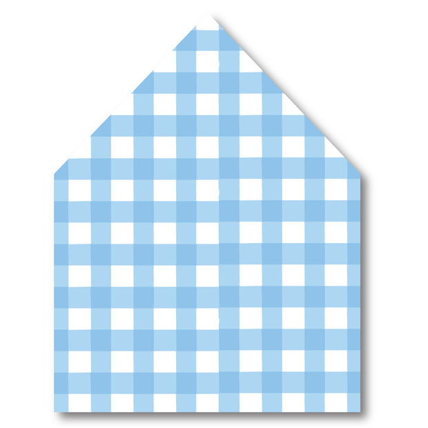 Blue Pram Envelope Liner