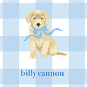 Blue Puppy Calling Card