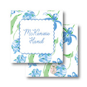 Blue Tulips Calling Card