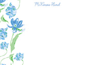 Blue Tulips Stationery