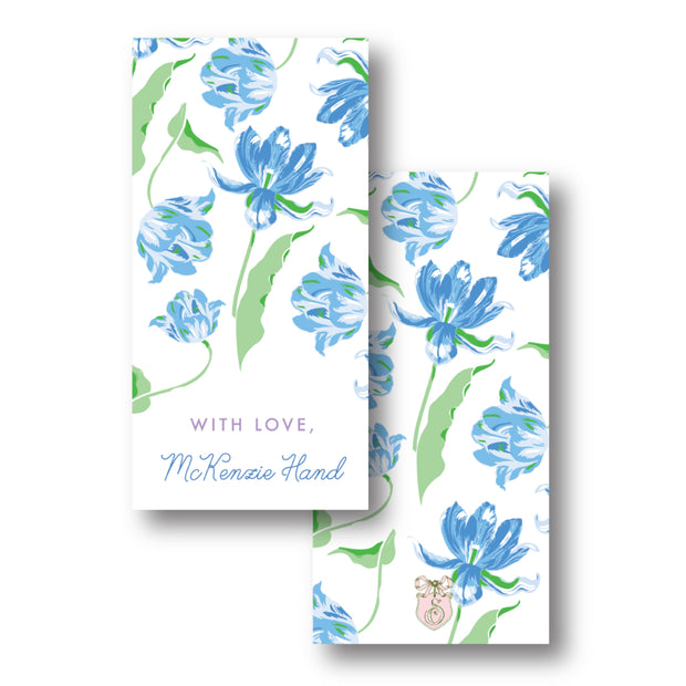 Blue Tulips Gift Tag