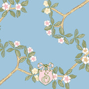 Chinoiserie Branch - Blue Calling Card