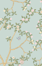 Chinoiserie Branch - Green Invitation