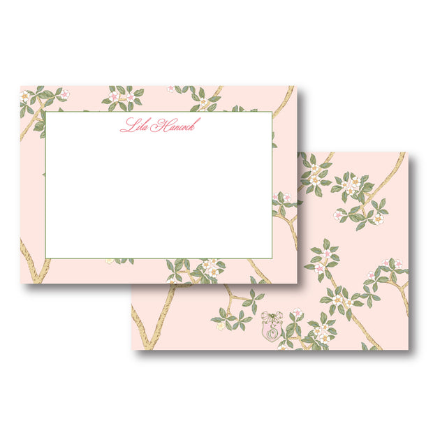 Chinoiserie Branch Stationery