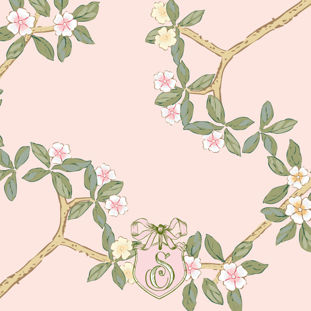 Chinoiserie Branch Calling Card