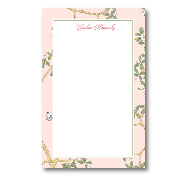 Chinoiserie Branch Notepad