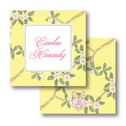Chinoiserie Branch - Yellow Calling Card