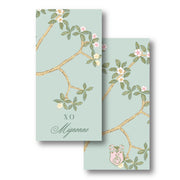 Chinoiserie Branch - Green Gift Tag