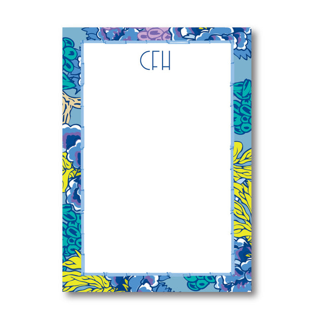Blue Chinoiserie Notepad