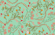Christmas Chinoiserie Branch - Landscape Christmas Card