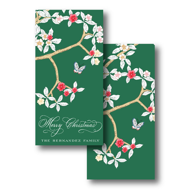 Christmas Chinoiserie Gift Tag