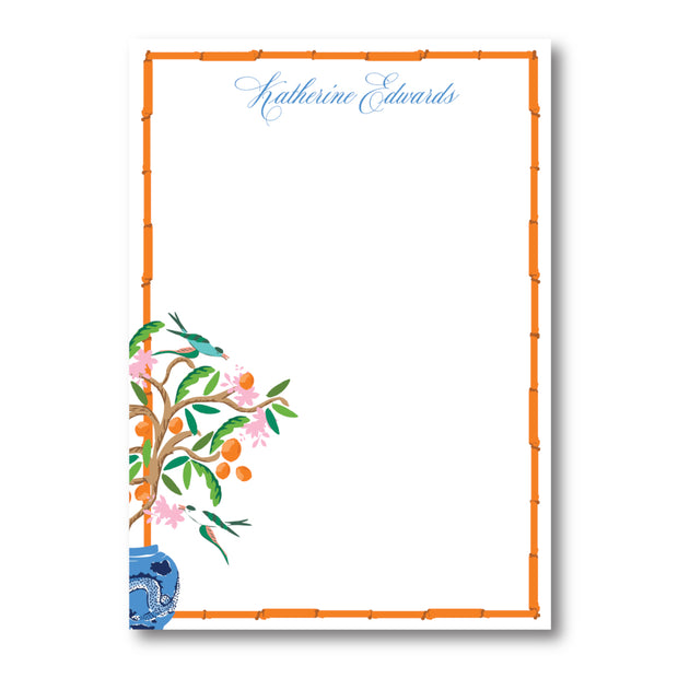 Citrus Garden Notepad