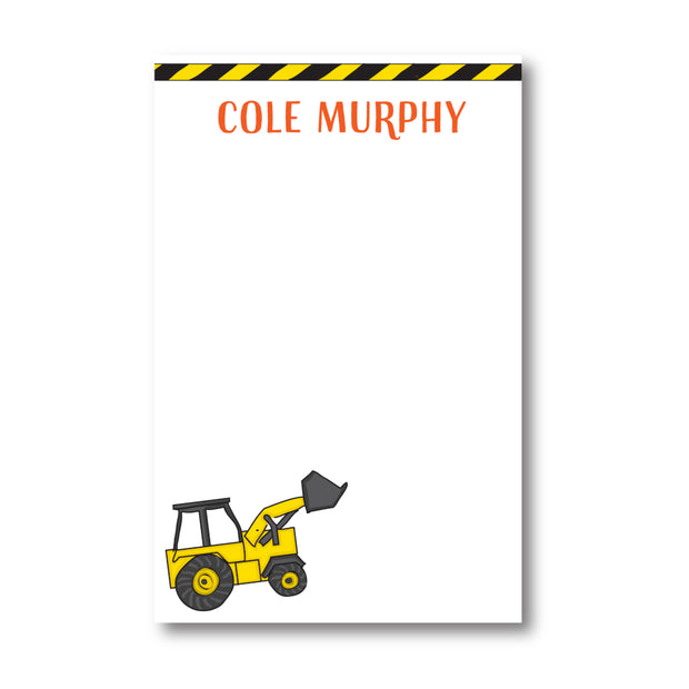 Construction Notepad