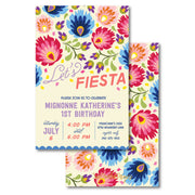 Fiesta Floral Invitation