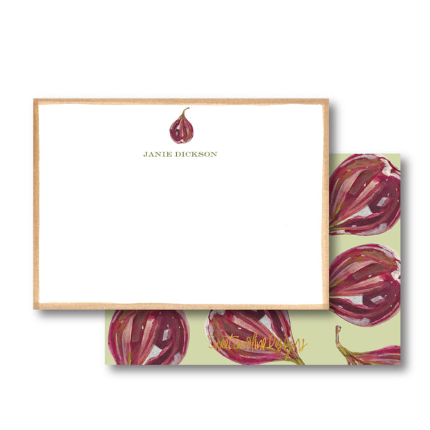 Falling Fig Stationery