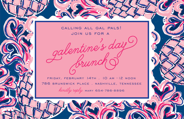 Galentine's Day Invitation
