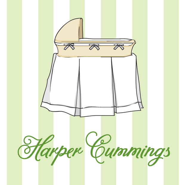 Green Bassinet Calling Card