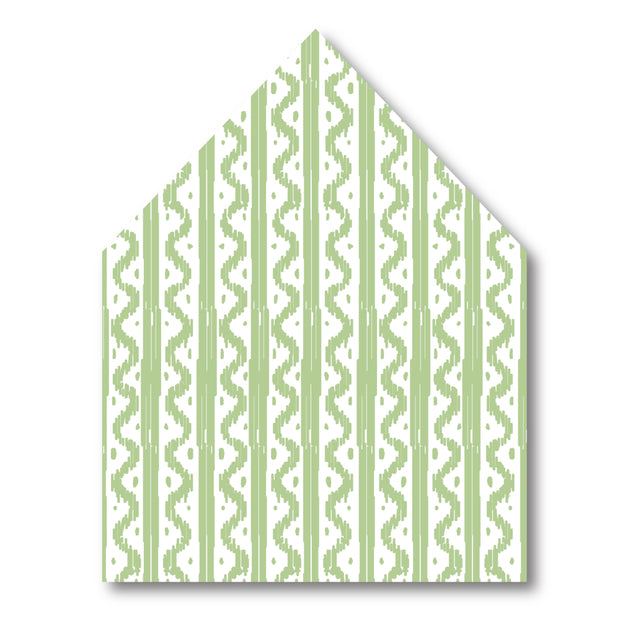 Green Wave Envelope Liner