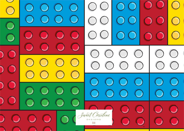 Lego Fill in the Blank Stationery