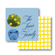 Lemon Topiary Calling Card