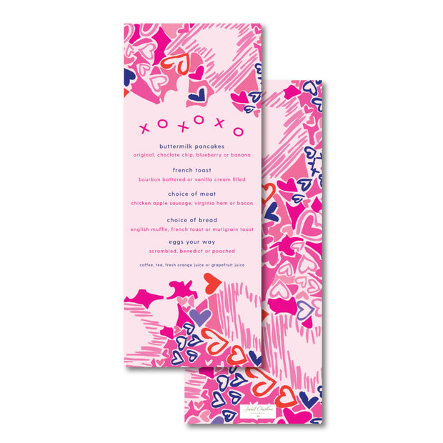 Lilly Love Menu