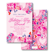 Lilly Love Invitation