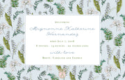 Lily of the Valley Birth Announcement
