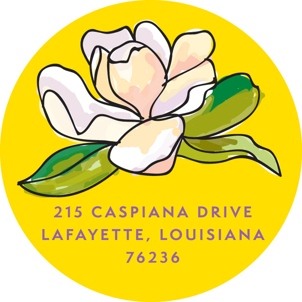Louisiana Return Sticker