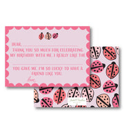 Love Bug Fill in the Blank Stationery